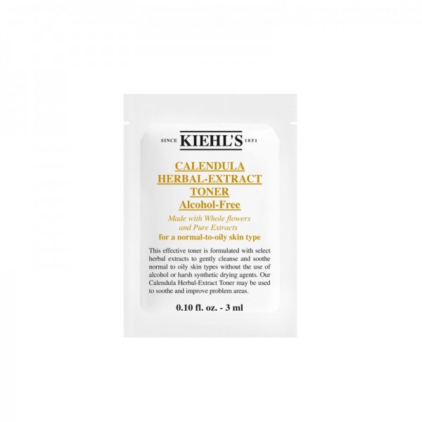 Kiehl's 金盞花植物精華爽膚水 3ml (20包)