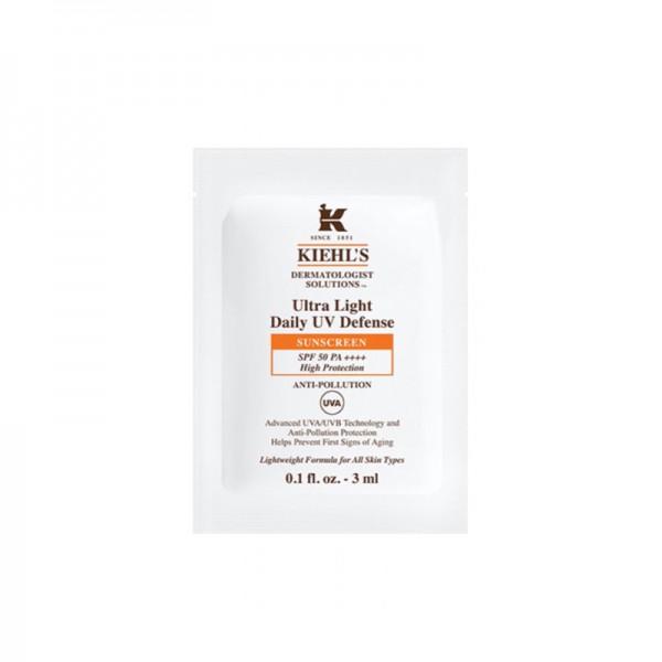 KIEHL'S 醫學全效抗污染輕柔防曬乳SPF50 PA++++ 3ML (20包)