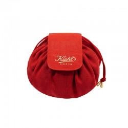 KIEHL'S 紅色化妝袋
