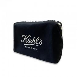 KIEHL'S 黑色化裝袋 (橫間邊)