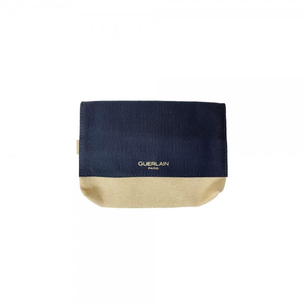 Guerlain 黑色麻布化妝袋