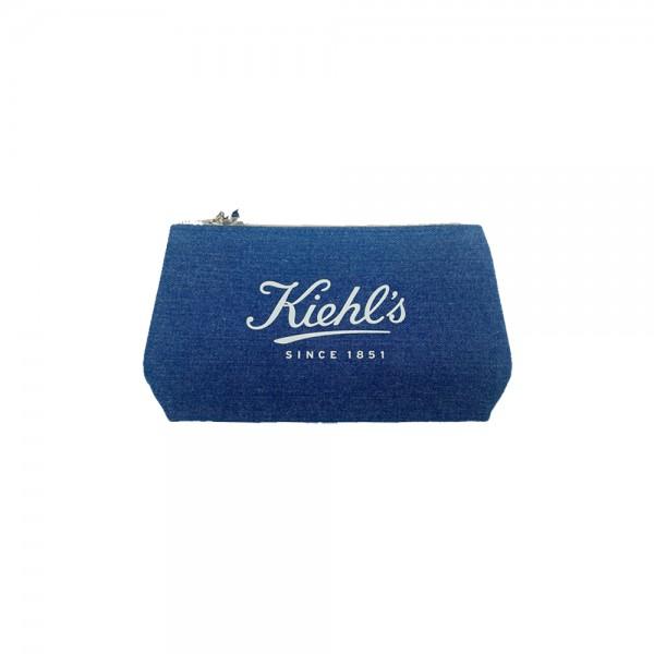 Kiehl's 牛仔布化妝袋