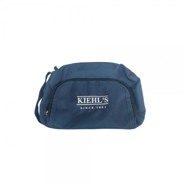 Kiehl's 軍籃色化妝袋
