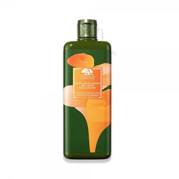 限量版橙色 靈芝菇菌抗逆健膚紓緩水 400ML