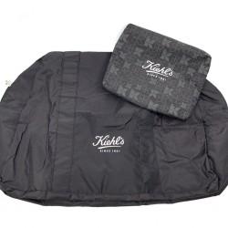 KIEHL'S 黑色旅行袋