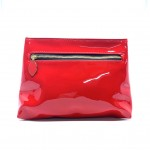 YSL 金扣化妝袋(紅色)