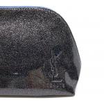 YSL 化妝袋(黑色閃底)